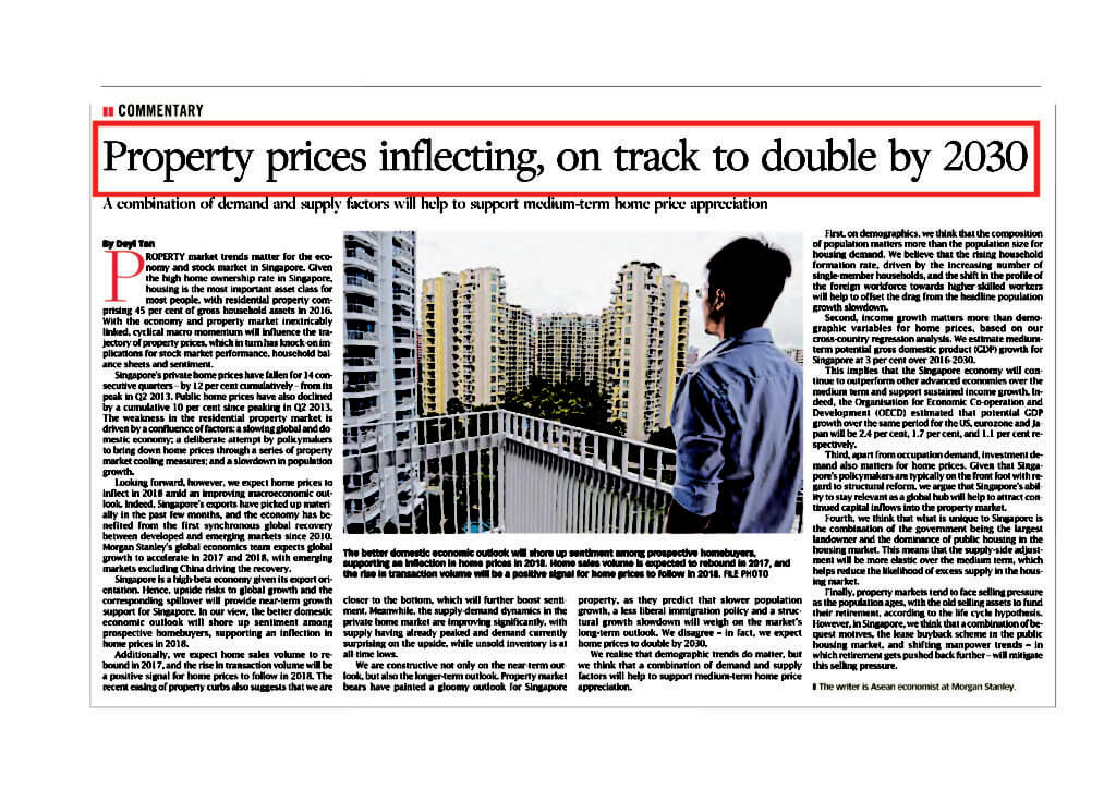 Property prices on track double by 2030